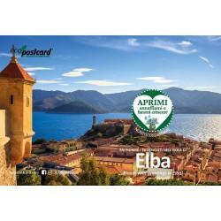 Eco-Postcard Turistica dell'Isola d'Elba - Girasole