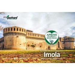Eco-Postcard Turistica della Rocca Sforzesca di Imola - Girasole