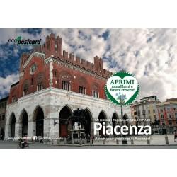Eco-Postcard Turistica di Piacenza - Nontiscordardimé