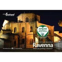 Eco-Postcard Turistica di Ravenna - Basilica di San Vitale - Nontiscordardimé