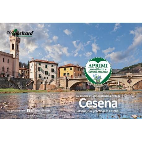 Eco-Postcard Turistica di Cesena   Fronte