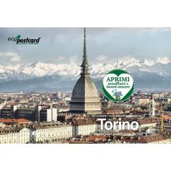 Eco-Postcard Turistica di Torino - Mole Antonelliana