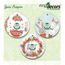 Eco-Decors Serie 3 Decorazioni ecologiche di Pasqua