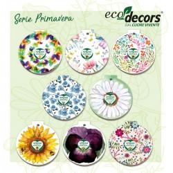 Eco-Decors Serie 8 Decorazioni ecologiche di Primavera
