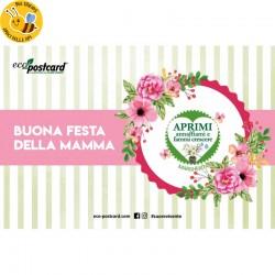 Eco-Postcard Auguri Festa della Mamma Fiori