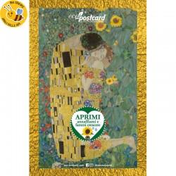 Eco-Postcard Artistica - Klimt con Realtà Aumentata
