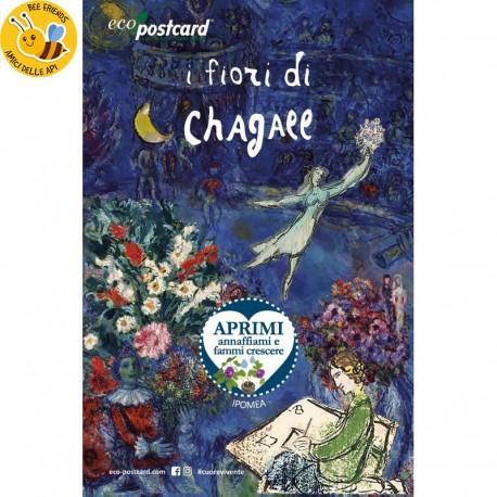 Eco-Postcard Artistica - Chagall con Realtà Aumentata | Fronte