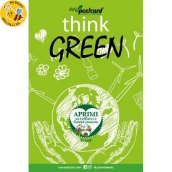 Eco-Postcard Think Green con Realtà Aumentata