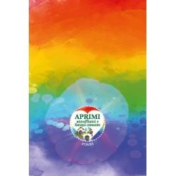 Eco-Postcard cartolina regalo arcobaleno LGBT ipomea