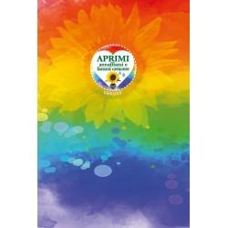 Eco-Postcard Arcobaleno ad Acquerello Girasole LGBT