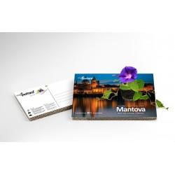 Eco-Postcard Turistica di Mantova | Con piantina