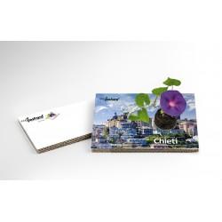 Eco-Postcard Turistica di Chieti | Con piantina