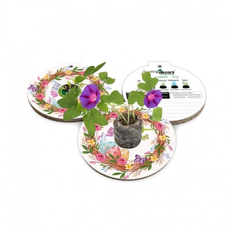 Eco-Decors decorazione ecologica Pasqua Nido – Ipomea
