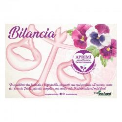 Eco-Postcard zodiaco Bilancia - viola del pensiero