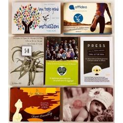 1 Eco-Postcard personalizzata con la tua grafica