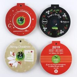 1 Eco-Decors pallina  personalizzata con la tua grafica